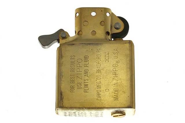 Zippo ジッポー 絶版・1998年製造 インサイドユニット ゴールド