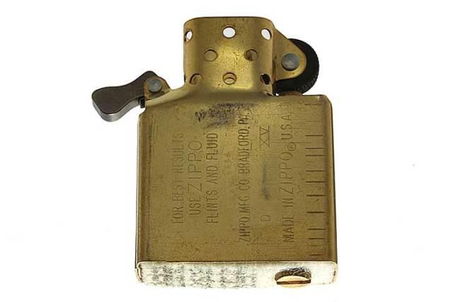 Zippo ジッポー 絶版・1999年製造 インサイドユニット ゴールド