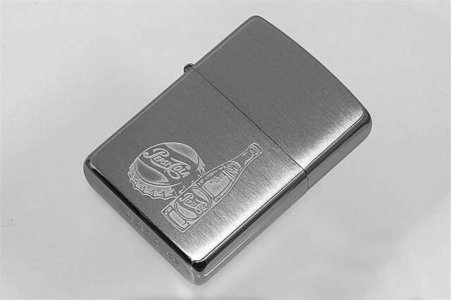 Zippo ジッポー 絶版・2003年製造 PEPSI ペプシ US加工 F メール便可