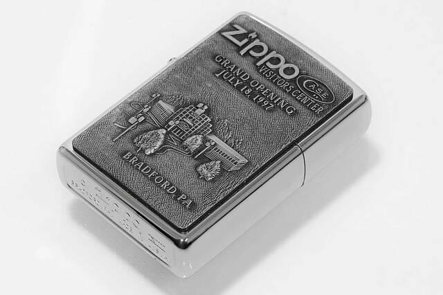 Zippo ジッポー 絶版・1997年製造 ビジターセンター グランドオープン記念 CASE社ナイフ限定セット GRAND OPENING