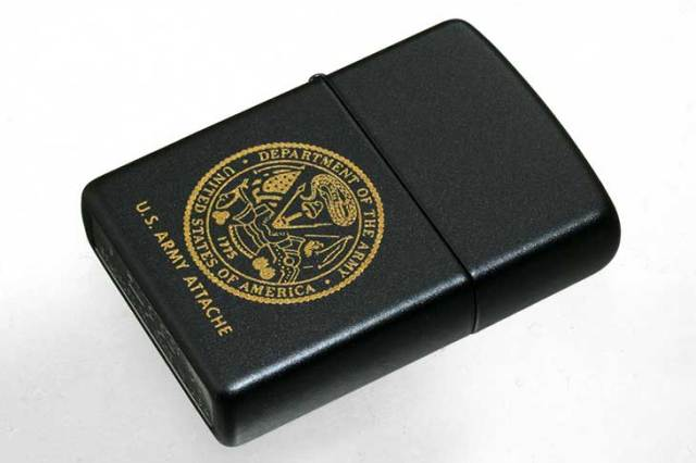 Zippo ジッポー 絶版・2005年 MTB2015G DEPARTMENT OF THE ARMY 286720