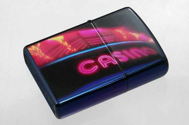 Zippo ジッポー 絶版・2005年 MTB2015G CASINO 20613 メール便可