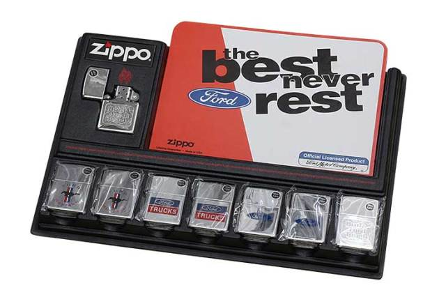 Zippo ジッポー 絶版・1997年製造 Ford the best never rest OFFICIAL LICENSED PRODUCT フォード 7個セット