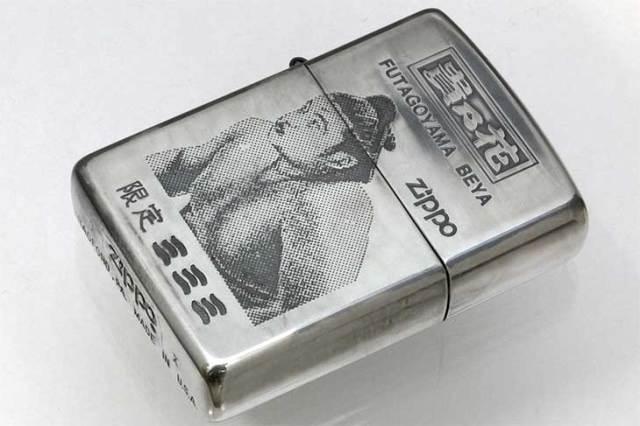 Zippo ジッポー 絶版・1994年製造 相撲 貴乃花 限定モデル B