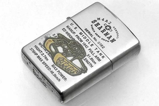 Zippo ジッポー 絶版・1994年製造 WORLD ARMY Series LIMITED EDITION SHARMAN No.0162