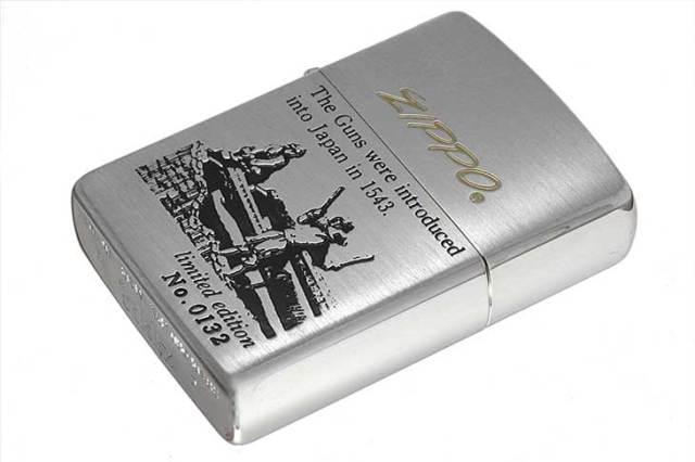 Zippo ジッポー 絶版・1993年製造 鉄砲伝来シリーズ オイルケース付き Limited Edition No.0132