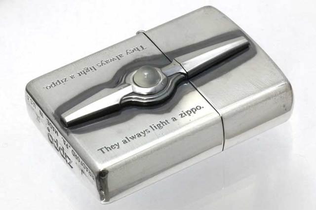 Zippo ジッポー 絶版・1993年製造 ムーンストーン 化粧箱損傷あり A