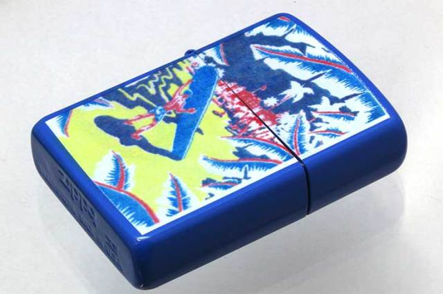 Zippo ジッポー 絶版・1996年製造 HAWAIIAN COLLECTION B