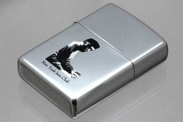 Zippo ジッポー 絶版・2000年製造 NEW YORK JAZZ CLUB PIANO メール便可