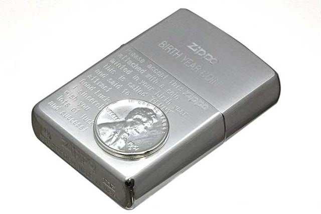 Zippo ジッポー 絶版・1999年製造 BIRTH YEAR COIN 1961年コイン