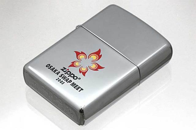 Zippo ジッポー 絶版・2003年製造 大阪スワップミート記念 2003