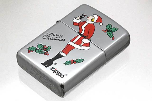 Zippo ジッポー 絶版・2003年製造 Xmas WINDY SANTA No.250 ポリッシュ