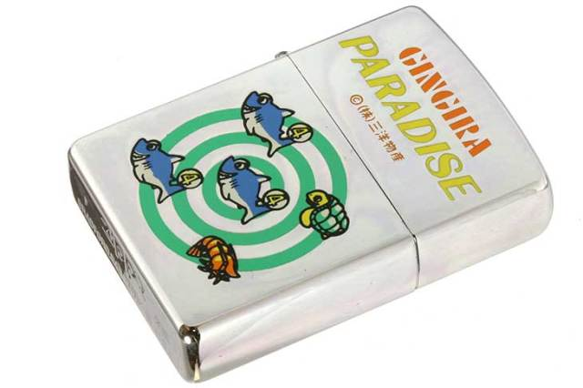 Zippo ジッポー 絶版・1997年製造 三洋物産 GINGIRA PARADISE リーチ メール便可