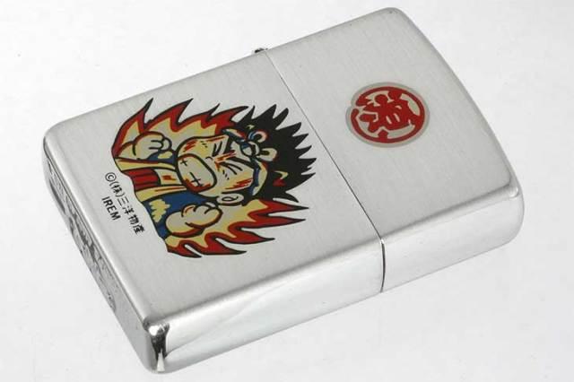 Zippo ジッポー 絶版・1997年製造 三洋物産 大工の源さん 炎 メール便可