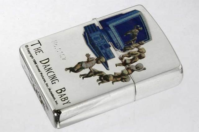 Zippo ジッポー 絶版・1999年製造 THE DANCING BABY No.0157