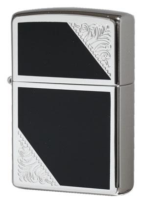 Zippo ジッポー Venetian Design 2SW-BK メール便可