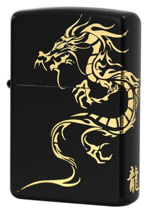 Zippo ジッポー Tiger & Dragon 2BKG-DR メール便可
