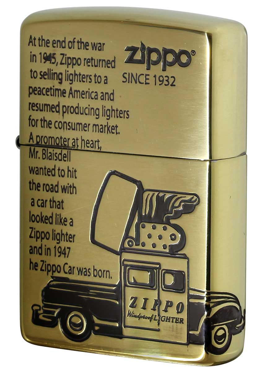 Zippo ジッポー OLD DESIGN オールドデザイン 2BI-ZCAR メール便可
