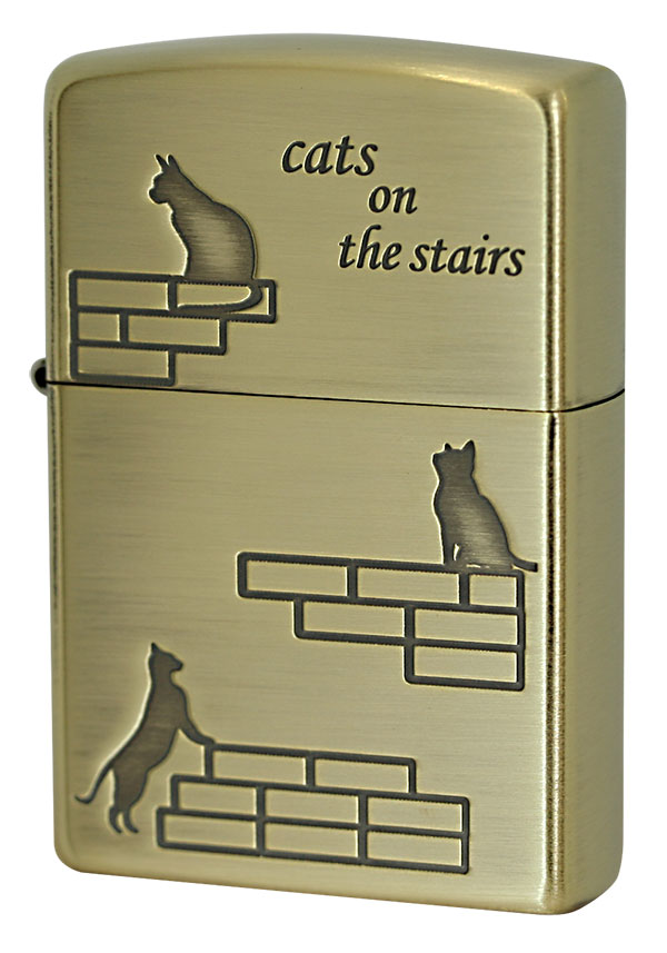 Zippo ジッポー CATS on the Stairs CATS-BB