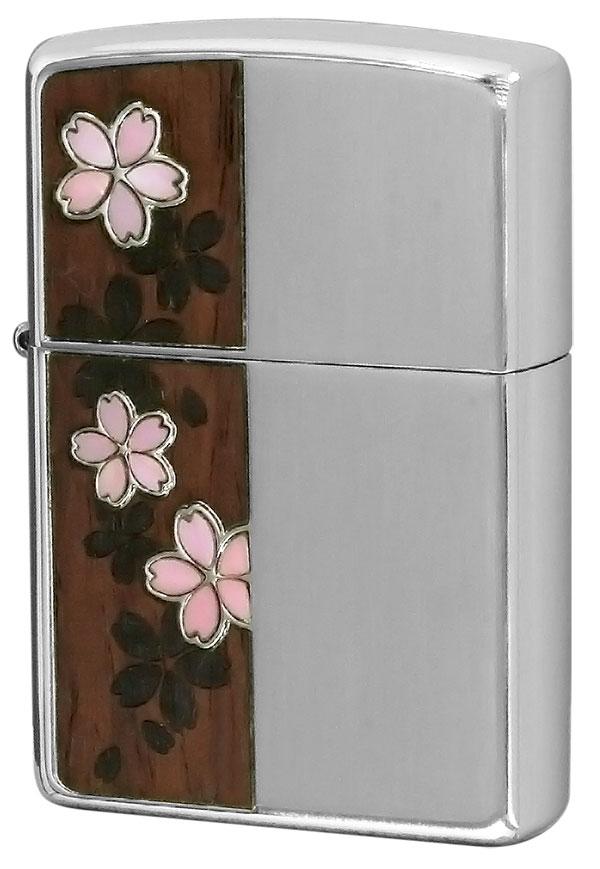 Zippo ジッポー Shell&Wood 桜 Cherry blossoms 2CSW-NIS