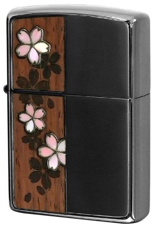 Zippo ジッポー Shell&Wood 桜 Cherry blossoms 2CSW-BN