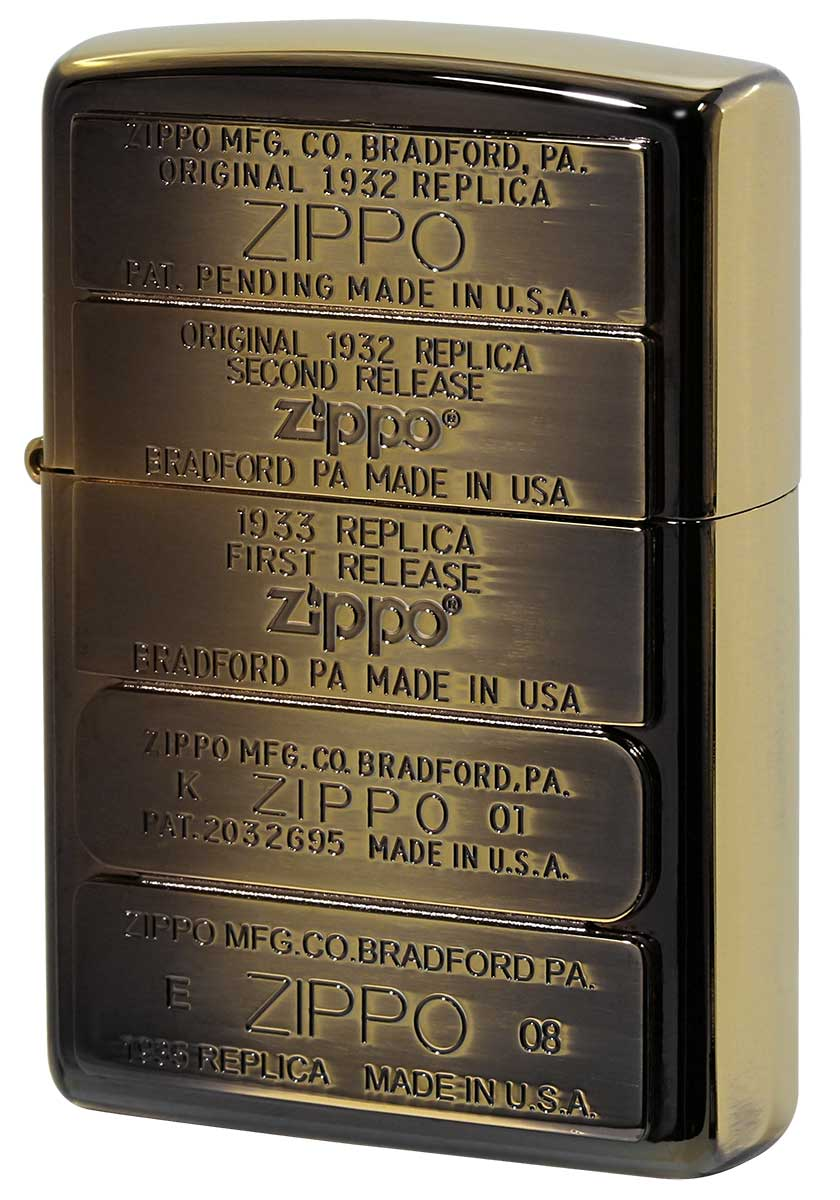 Zippo ジッポー Bottom Metal ボトムメタル BM-111BGI メール便可