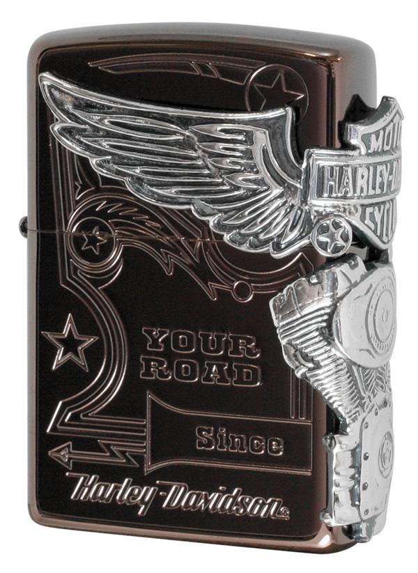 Zippo ジッポー 日本限定Zippo Harley Davidson ハーレーダビッドソン  HDP-49