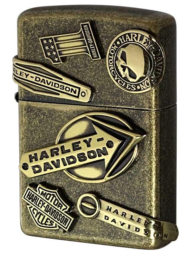 Zippo ジッポー 日本限定Zippo Harley Davidson ハーレーダビッドソン メイクメタル HDP-64