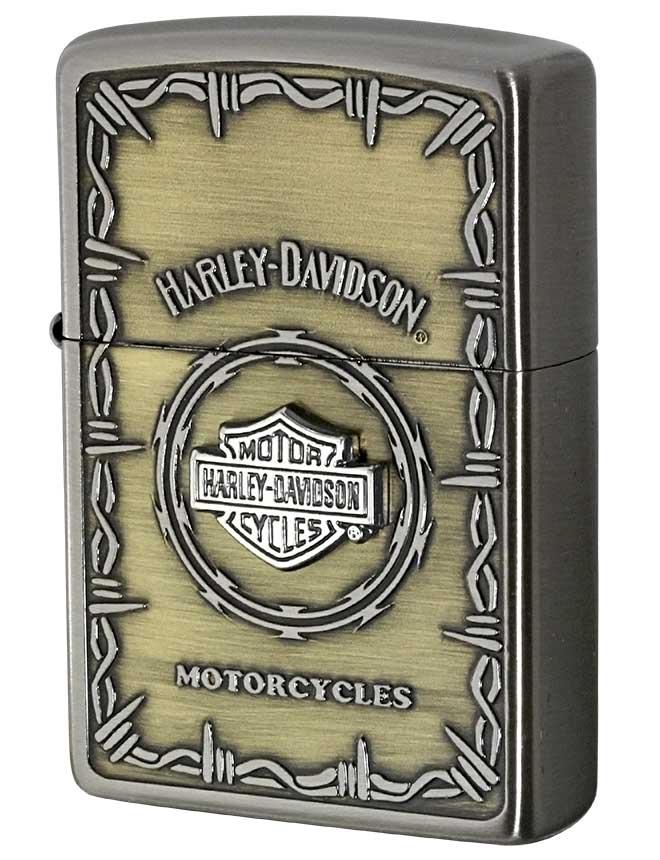Zippo ジッポー 日本限定Zippo Harley Davidson ハーレーダビッドソン Sメタル バー&シールド HDP-67 メール便可