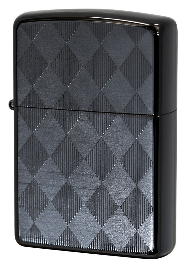 Zippo ジッポー Titanium Coating Series ARGYLE Ti-BK-A(D) メール便可