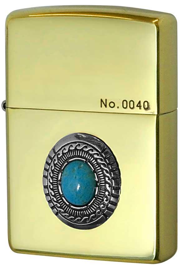 Zippo ジッポー Turquoise Metal ターコイズメタル BSイブシ メール便可
