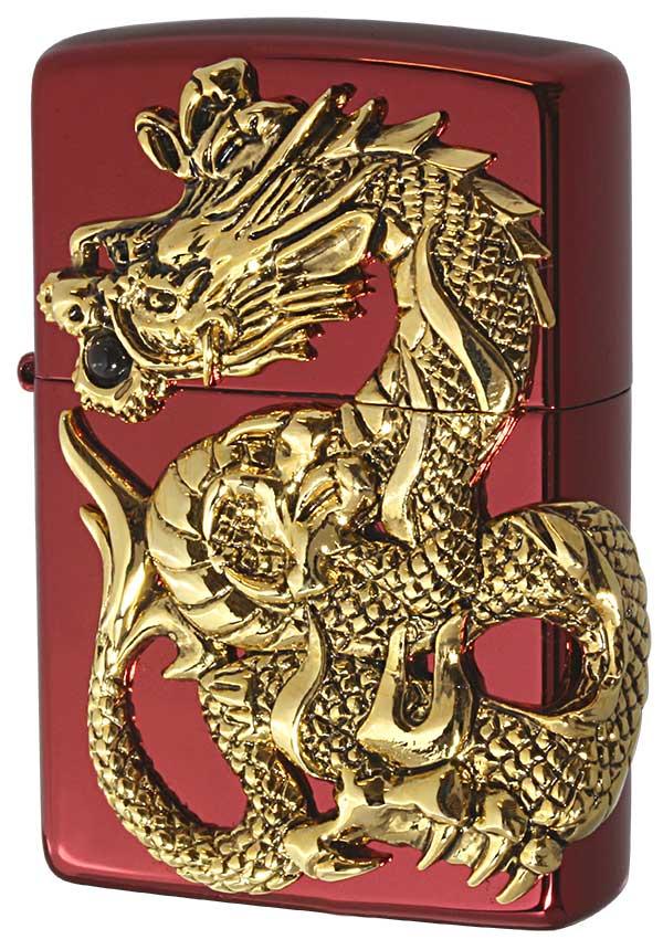 Zippo ジッポー 限定1,000個生産 DRAGON METAL ドラゴンメタル RED