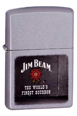 Zippo ジッポー Jim Bearm 21018 Jim Beam Rosette メール便可