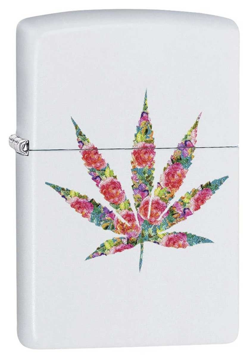 Zippo ジッポー Counter Culture Floral Weed 29730 メール便可