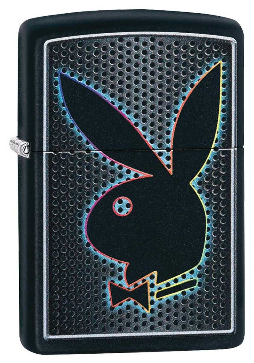 Zippo ジッポー Playboy Bunny Black Matte 49155 メール便可
