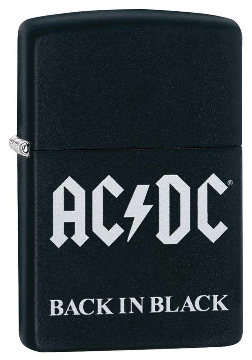 Zippo ジッポー AC DC Back in Black 49015 メール便可