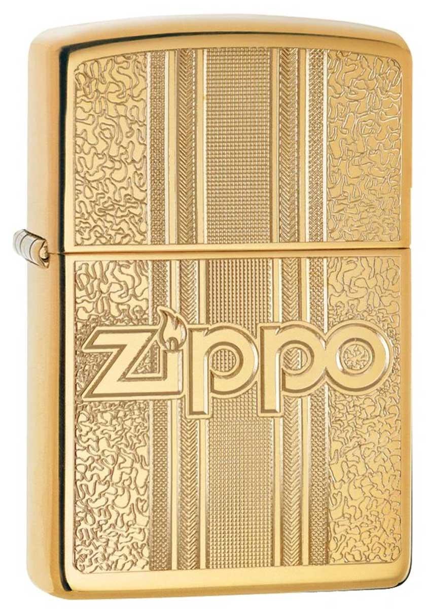 Zippo ジッポー Logo Pattern 29677 メール便可