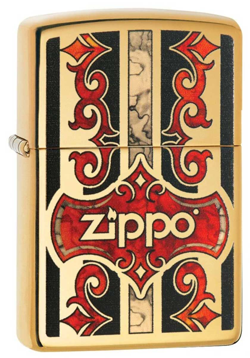Zippo ジッポー Fusion Zippo Red and Black 29510 メール便可