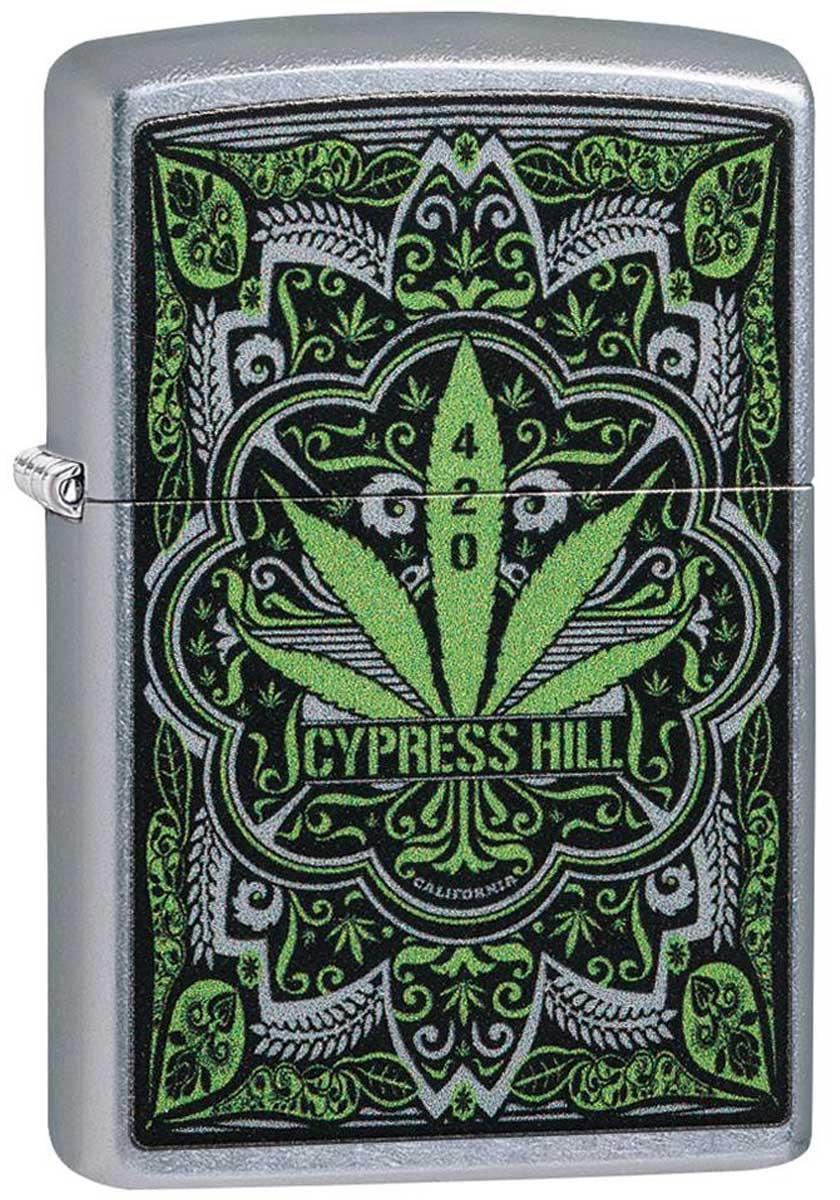 Zippo ジッポー Cypress Hill Marijuana Leaf  49010 メール便可