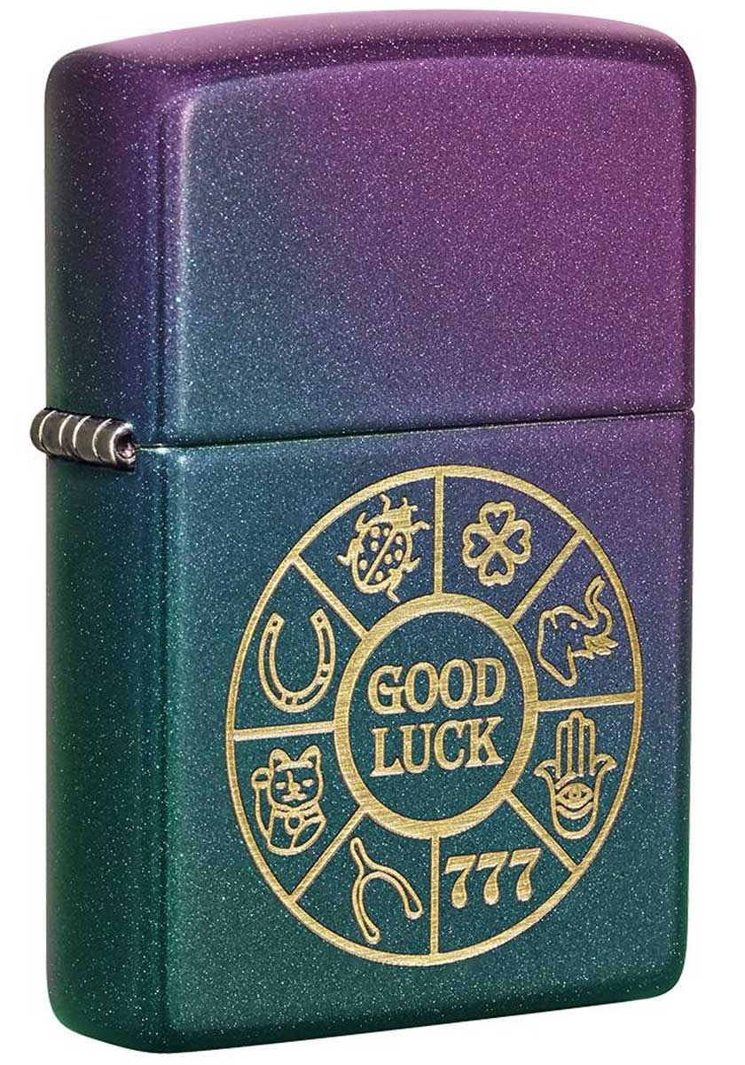 Zippo ジッポー Lucky Symbols 49399 メール便可