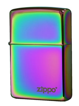 Zippo ジッポー スペクトラム ロゴ 151ZL メール便可