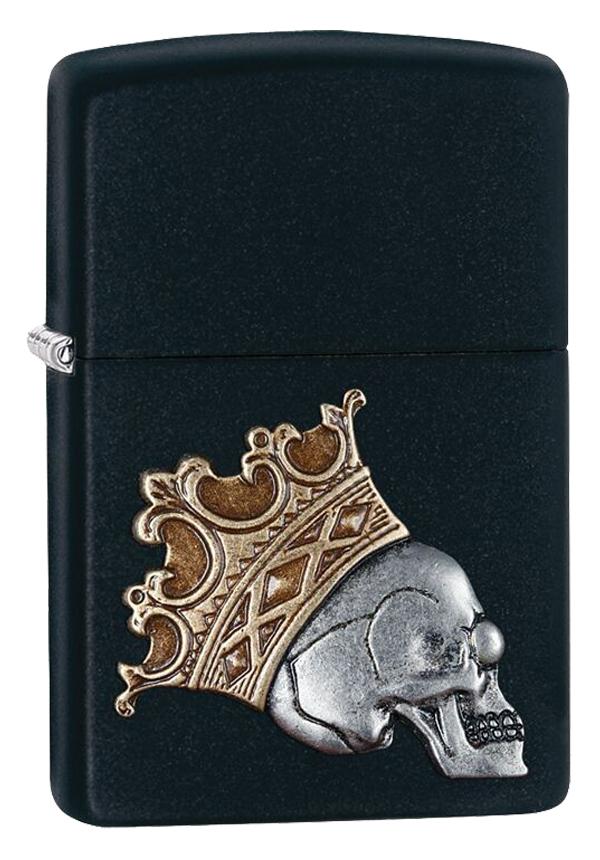 Zippo ジッポー King Skull Emblem 29100 メール便可