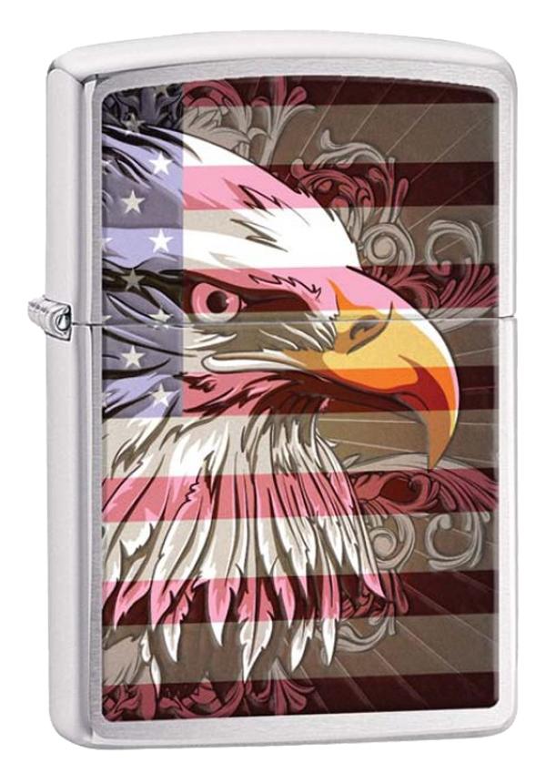 Zippo ジッポー Eagle Flag 28652 メール便可
