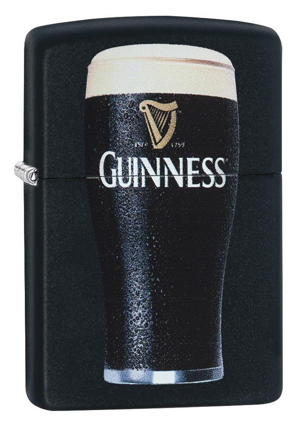 Zippo ジッポー Guiness Beer Pint Glass 29649 メール便可