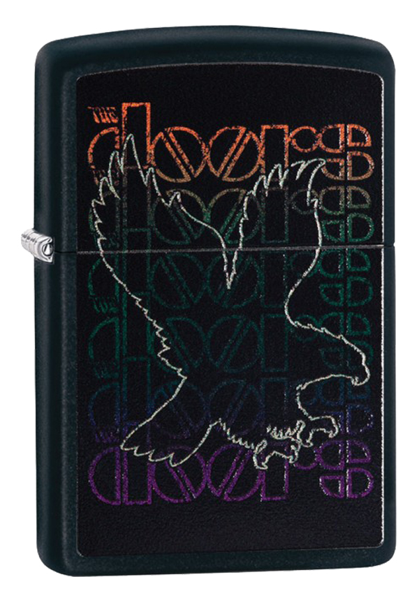 Zippo ジッポー The Doors Logo 29710 メール便可