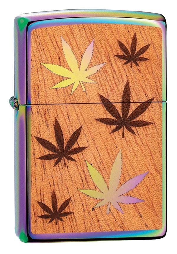 Zippo ジッポー Woodchuck Weed Leaves 29903