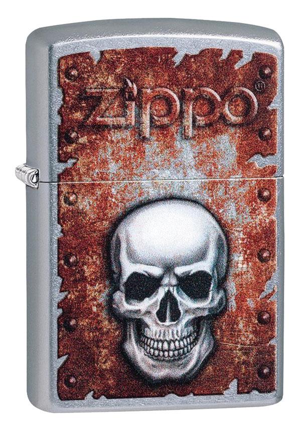 Zippo ジッポー Skull and Rust 29870 メール便可