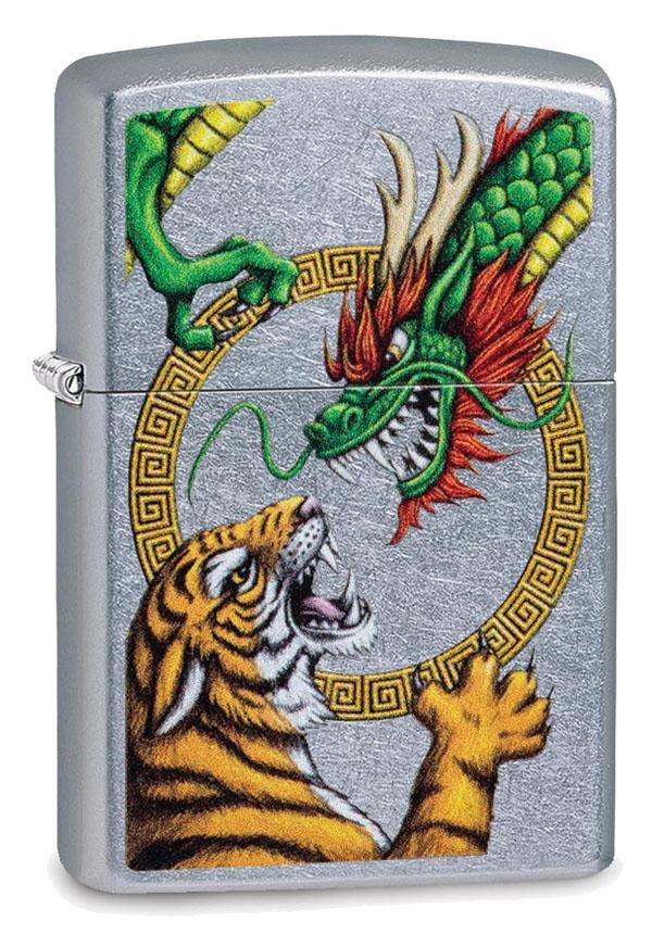 Zippo ジッポー Asian Dragon and Tiger 29837 メール便可
