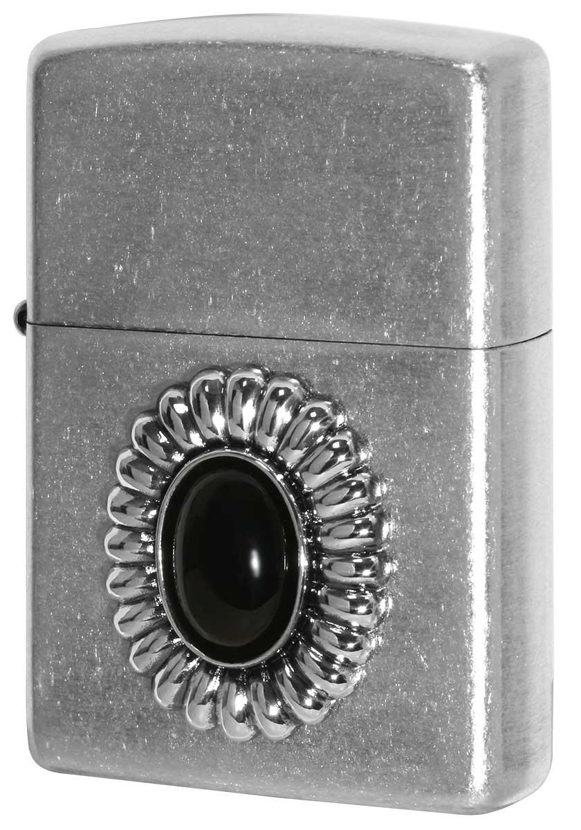 Zippo ジッポー Power Stone パワーストーン オニキス 70638 メール便可