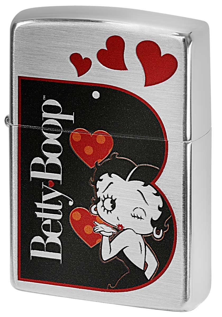 Zippo ジッポー Betty Boop ベティ・ブープ 90周年記念モデル B 70674 メール便可